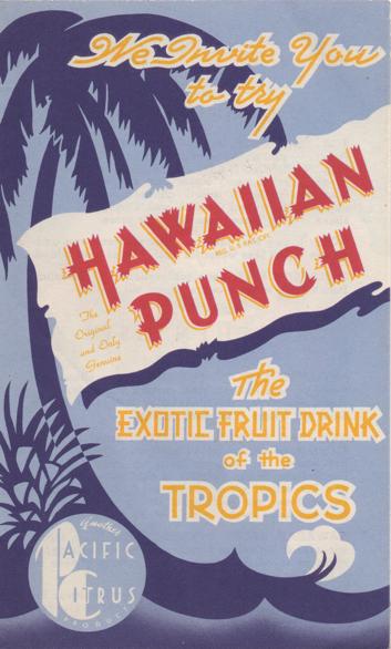 Hawaiian Punch Booklet