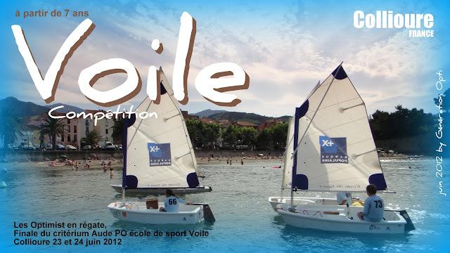 Voile Optimist compétition Generation_opti Collioure Po 66