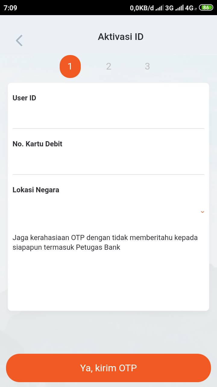 Cara Aktivasi BNI Mobile Banking di Android