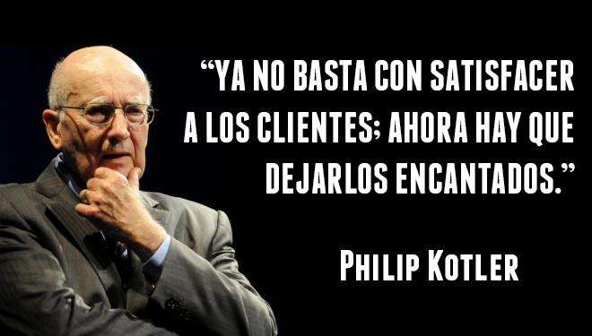 Frase de Philip Kotler