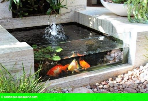 Hình 2: Phong thủy về đường nước chảy quanh nhà có lợi hay có hại?