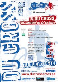 Du Cross Villanueva de la Cañada, domingo 12 de mayo 2013