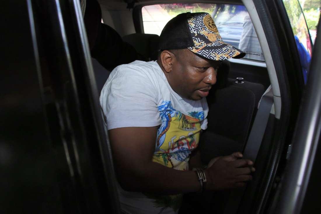 Mike Sonko taken to Milimani law courts