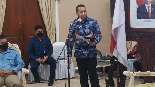 Audy Joinaldy Sambangi Bupati Cilacap Bahas Pengelolaan Sampah dan Budidaya Sidat