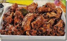 Puntine di maiale con fagioli neri