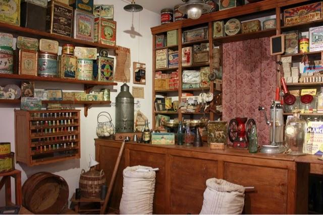Tienda de ultramarinos. Museo etnográfico de Almagro.