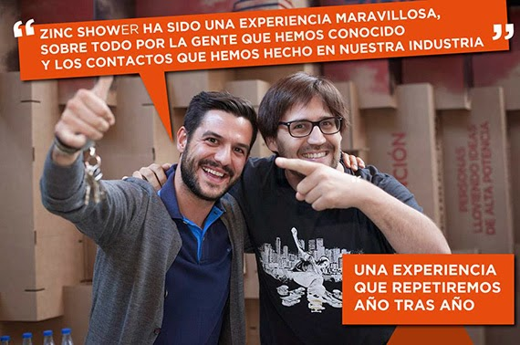 Zinc Shower 2015 en Matadero Madrid, 8 y 9 de mayo de 2015
