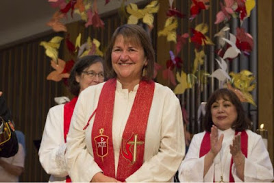 Married Lesbian Ordained as Methodist Bishop