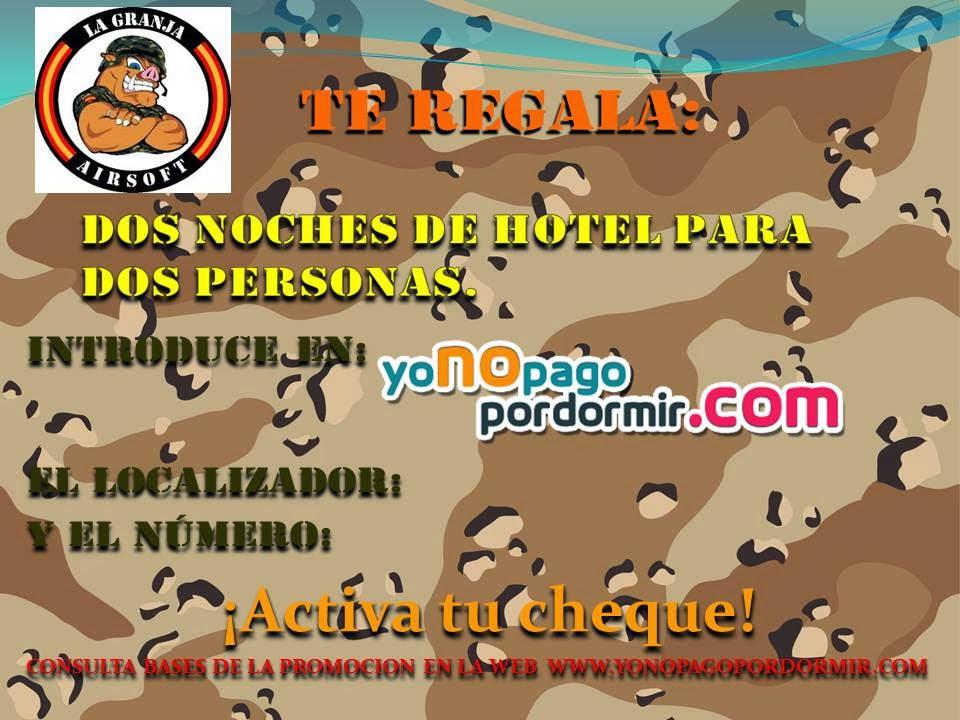 DEA RAID. PARTIDA ABIERTA. LA GRANJA. 9-03-14 CUPON++LA+GRANJA3