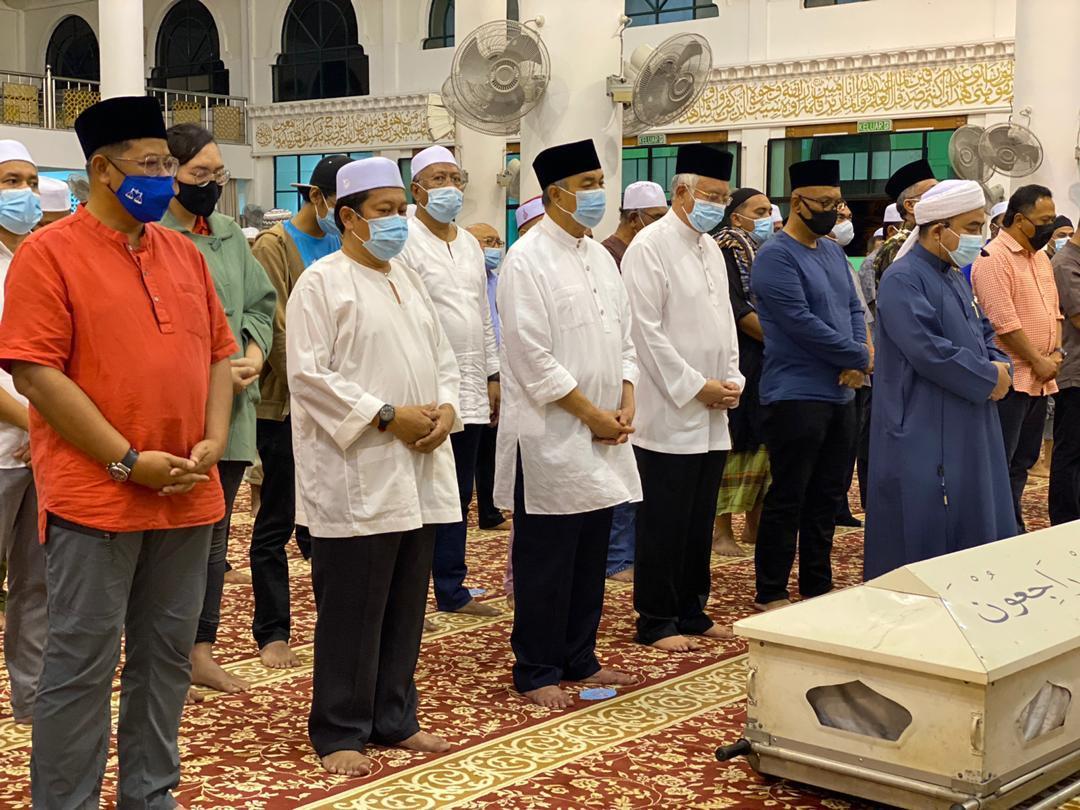 Zahid, Najib dan pimpinan solat jenazah Arwah Ahli Parlimen Grik