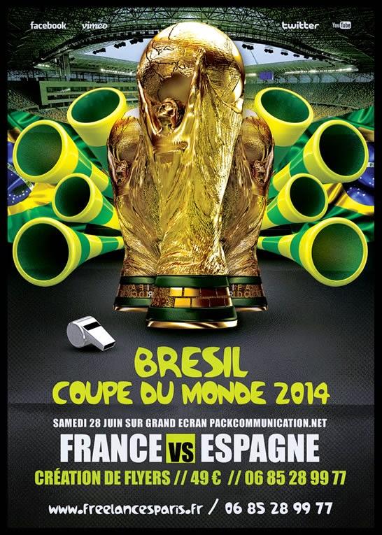 création flyer brésil 2014 coupe du monde 05