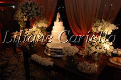 Fotos de decoração de casamento de Casamento Mariana e Leonardo no Clube Naval Charitas da decoradora e cerimonialista de casamento Liliane Cariello que atua no Rio de Janeiro e Niterói, RJ.