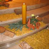 Predigtreihe und Adventskranz 2008