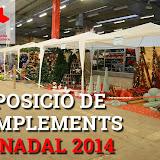 ExposicioDeComplementsDeFloristeriaIJardineriaDeNadal2014