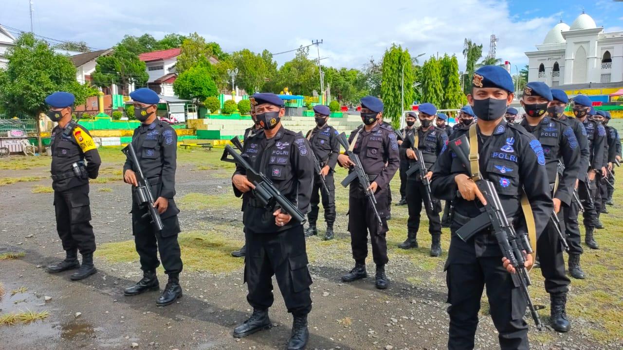 Satu SST di Kabupaten Soppeng Kembali ke Mako Batalyon C Pelopor Kabupaten Bone