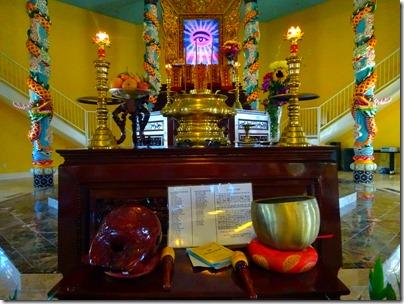 Cao Dai Temple altar
