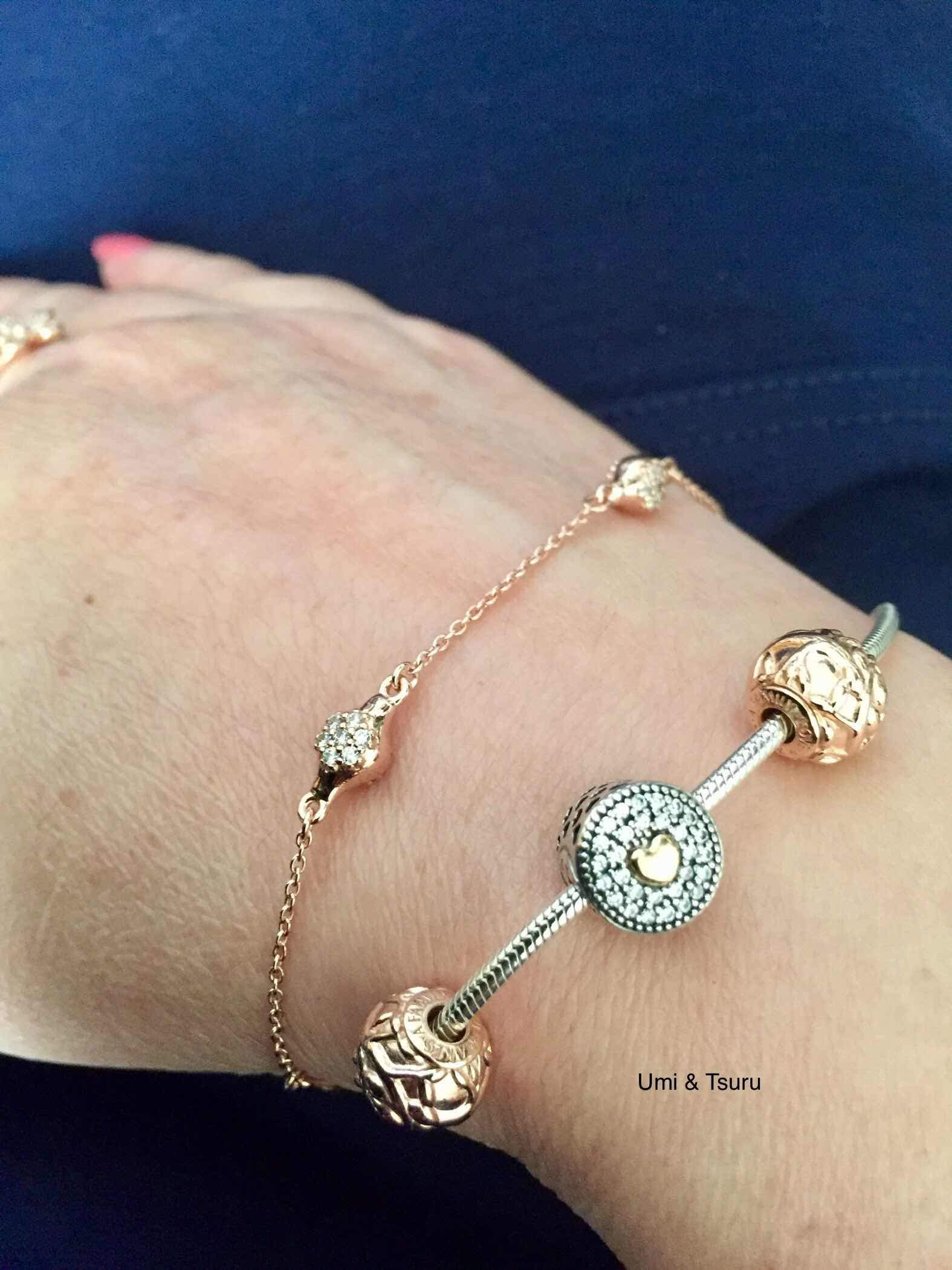 8c96f21e9 This week I am pairing the Pandora Rose Modern Lovepods bracelet with the  Pandora Essence. Charms on the Essence are the Pandora Rose Love makes a  family ...