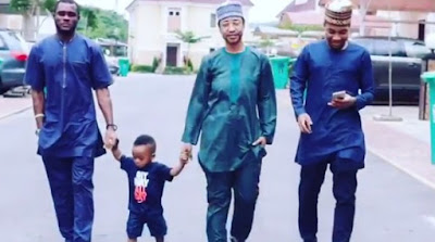 Tonto Dikeh Shows Up Dressed Like A Man At Her Son's School (Photos)