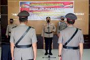 Sertijab di Polres Wajo, Kompol H.Abdul Rasyid Jabat Kabag Ops yang Baru