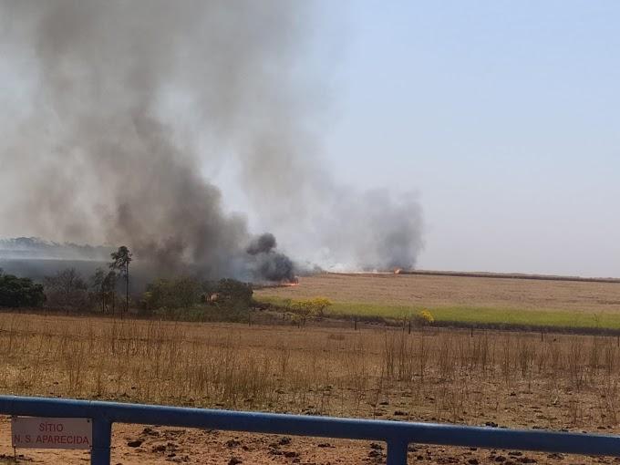 Usina é multada em mais de R$ 72 mil por causar fogo em área rural de Araçatuba