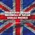 Peribahasa Bahasa Indonesia dalam Bahasa Inggris