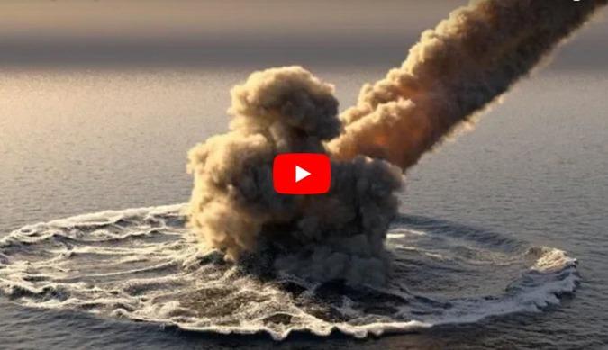 ovni caiu no oceano pacifico nasa tenta recuperar o objeto