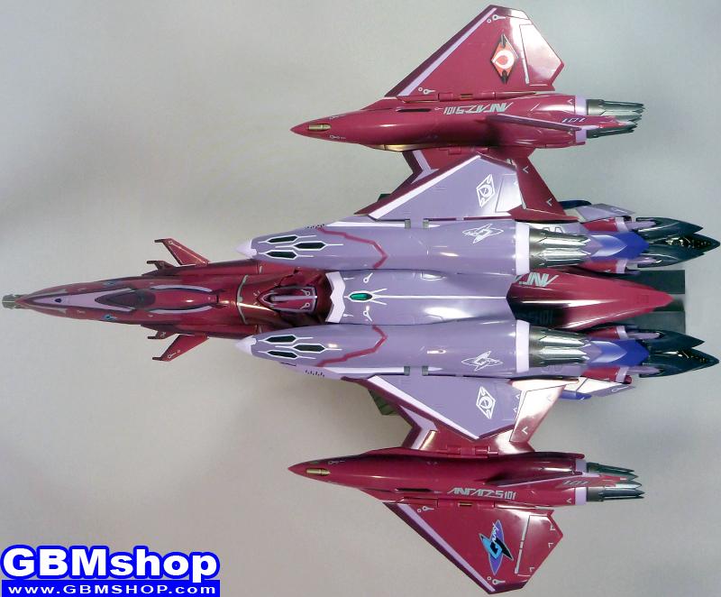 Macross Frontier VF-27 Super Lucifer Renewal Version Fighter Mode