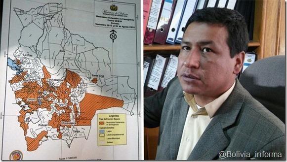 Bolivia: Casi el 40% de los municipios en emergencia por la sequía
