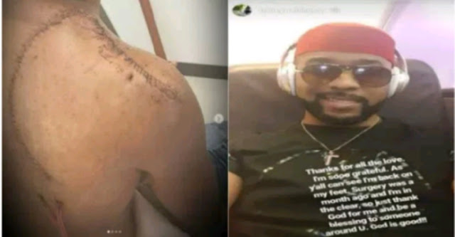 'I'm So Grateful For All The Love' – BankyW Thanks Nigerians After His Successful Cancer Surgery (Photos)