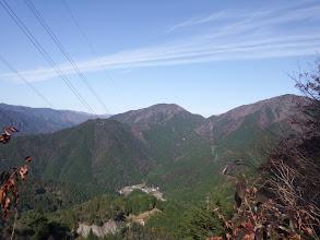 高賀山(右)方面