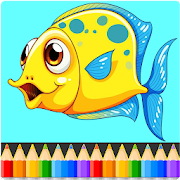 Animals Coloring Book Pages: Kids Coloring Games