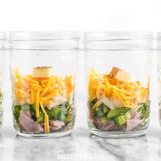 Make Ahead Microwave Breakfast Scrambles.
