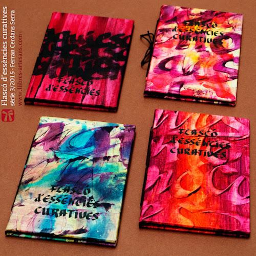 Llibres Artesans manuscrits de Ferran Cerdans Serra