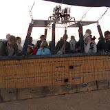 Simon, Juliette et Léa ont également embarqué sur une montgolfière