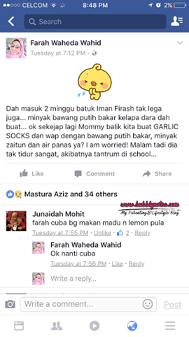 Aroma Health COUGH BLEND by Wawa Yusoff 2