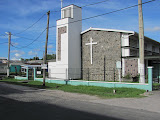 Calvary Church, where I'm staying and working while in Guyana.