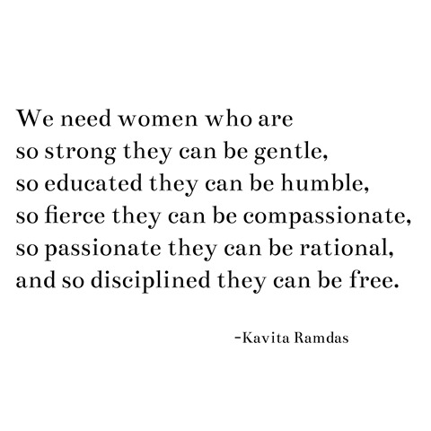 we need women -- kavita ramdas