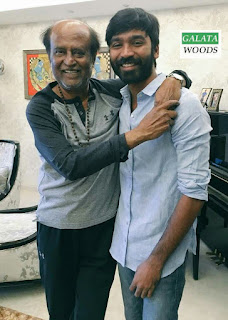 Dhanush Celebrates Birthday With Rajinikanth Stills Pictures Images Pics Photos Gallery Wallpapers