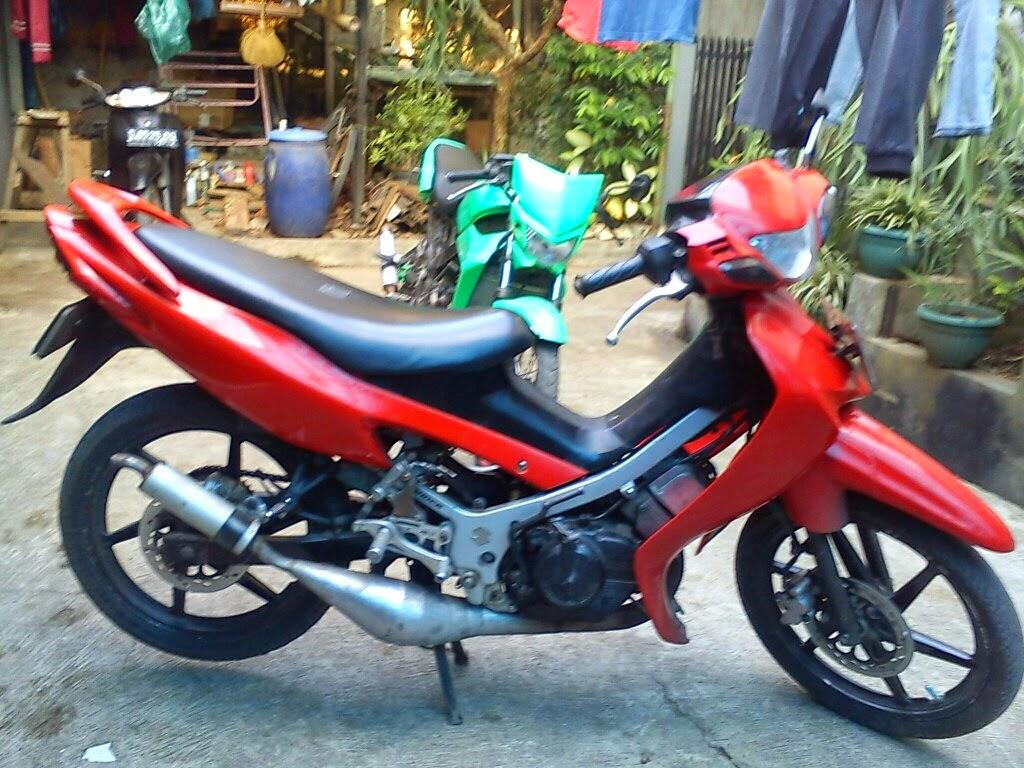 Modifikasi Suzuki Satria 120