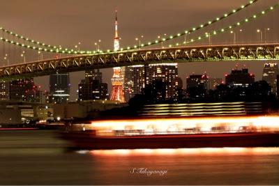 東京の風景 お台場の夜景