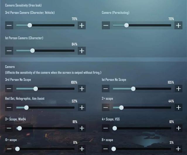 iPad için En İyi PUBG Mobil Hassasiyet Ayarları