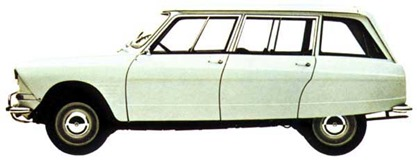 Citroen 1964 Ami 6 break
