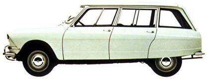 Citroen 1964 Ami 6 break
