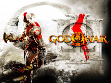 believe ghost of sparta God of war 3 Logo Wallpaper