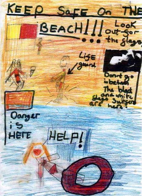 Sea safety poster - Darce