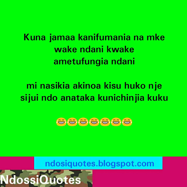 Swahili Funny Quote When A Man Is Hungry The Stomach Sound Like Mr Bean Cartoon