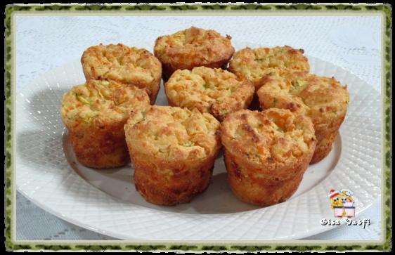 Muffins de arroz com legumes 1