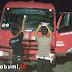 Tangki Gas LPG Disambit Batu Orang Tak Dikenal di Cibadak