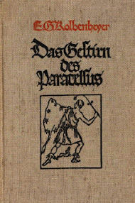 Cover of Erwin Guido Kolbenheyer's Book Das Gestirn des Paracelsus (in German)