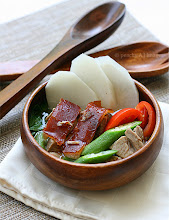 Thumbnail image for Sinigang na Lechon/Roasted Pork in Tamarind Soup